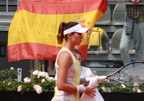 Garbine Muguruza - Muguruza - Reins in Spain