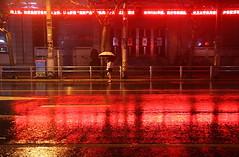 Plum Rains 1/11 (johey24) Tags: plumrainseason  miy   rain humidity wet night nightphotography rainatnight street candid raw umbrellas streets red colour t504 matchpointwinner