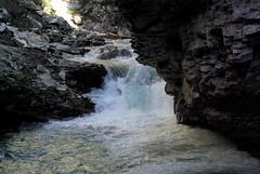Waterfall (Jori209) Tags: canada color colour canyon alberta banff johnston banffnationalpark johnstoncanyon
