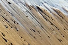 free falling (mariola aga ~ vacatiON) Tags: lakemichigan waukegan lake summer shoreline beach wet sand pebbles returning wave water texture diagonal abstract freefalling art thegalaxy