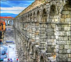(2321) Segovia (Spain) (QuimG) Tags: architecture canon landscape arquitectura paisaje segovia paisatge castillalen specialtouch quimg quimgranell joaquimgranell afcastell obresdart xtrmhdr