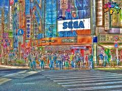 Tokyo=322 (tiokliaw) Tags: aplusphoto burtalshot colourful discovery excellence fantastic goldstaraward highquality inyoureyes japan outdoor perspective recreaction supershot thebestofday walkway