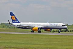 "TF-FIJ Boeing 757-208 Icelandair MAN 03-06-16 (PlanecrazyUK) Tags: man manchester 030616 icelandair ringway egcc airport"" tffij boeing757208 ""manchester"