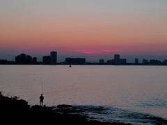 La Manga del Mar Menor Cartagena (Ruben Juan) Tags: sunset espaa canon spain manga murcia marmenor cartagena ocaso g12 powershot1