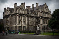 Trinity College (Toby2103) Tags: street city trip travel ireland sky urban dublin building architecture clouds capital olympus guinness mirrorless