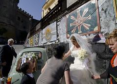 Leave for Rome today! (Blinkofanaye) Tags: family wedding italy rome bride italian fiat candid bracciano prepration