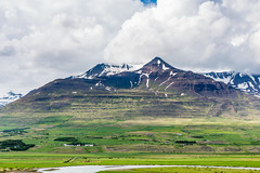 Mt. Kerling Eyjafjordur Iceland (Einar Schioth) Tags: summer sky cloud mountain mountains water sunshine clouds canon river landscape photo iceland day outdoor ngc picture sland eyjafjordur nationalgeographic kerling mtkerling einarschioth