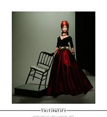 Black Red n' Gold (thitipatify) Tags: fashion ball magazine studio model glamour holidays doll dress barbie best hollywood glam gown diorama silkstone robertbest