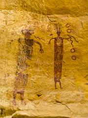 (xjblue) Tags: trip sandstone snake style sanrafaelswell rockart pictograph 2016 memorialdayweekend anthropomorph barriercanyon