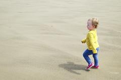 Frances on the Beach (Jon Pinder) Tags: beach canon powershot whitby s100 230616