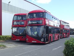 ADL Harlow 24/06/16 (TheStanstedTrainspotter) Tags: new red bus london public buses shiny transport leytonstone harlow routemaster publictransport w13 adl londongeneral goahead wrightbus alexanderdennis nbfl enviro400 ctplus newbusforlondon borismaster adlharlow lt504 ltz1504 enviro400city sn16ojl