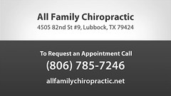 Welcome to All Family Chiropractic & Injury Clinic (allfamilychiropractic1) Tags: auto sports neck back pain accident injury relief health massage posture spine therapy adjustment whiplash physical nutrition wellness spinal counseling holistic lubbockchiropractic lubbockchiropractor