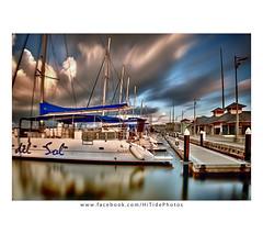 Dawn at Varadero Marina, Cuba (Gadget333) Tags: longexposure latinamerica clouds marina boats cuba historic communism castro catamaran varadero