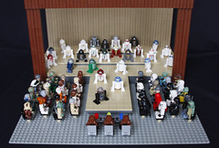 Droid Beauty Pageant (minicoop4) Tags: starwars lego droid legoland