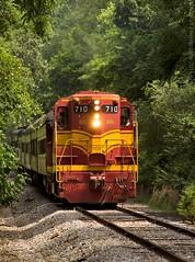 TVRM 300 at Chickamauga, GA (KD Rail Photography) Tags: georgia trains transportation locomotive gw railroads cofg passengertrain emd tennesseevalleyrailroad diesellocomotive gp7 ncstl centralofgeorgia geneseewyoming classiclocomotive nashvillchattanoogastlouis
