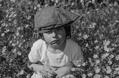 Bad mood (J'AIME...) Tags: flowers boy children funny enfance colere