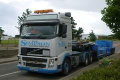 Hugh Simpson (A9 AWM) Tags: simpson brora wick crane cranehire volvo heavyhaulage