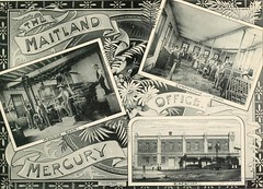 Maitland Mercury Office, Maitland, N.S.W. (maitland.city library) Tags: maitland newsouthwales beautiful sydney fertile west newcastle coalopolis george robertson 1896 university california libraries mercury office news newspaper compositors printing printers