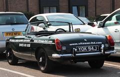 YOK 94J (Nivek.Old.Gold) Tags: 1971 mgb roadster vitesse 1798cc
