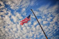 Up High. (Igor Danilov) Tags: world life blue red usa white home up america real freedom iso200 high nikon top stripes flag dream july pride f45 american enjoy patriot 4thofjuly d90 my 11000sec