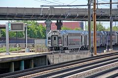 New York City Bound (craigsanders429) Tags: trainstations stations newjerseytransit northeastcorridor passengertrains passengercars newarkairportstation