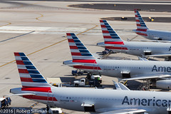 Assimilation complete (rob-the-org) Tags: iso100 noflash assimilation cropped americanairlines f11 tails terminal4 phx phoenixaz 70mm kphx 1160sec skyharborinternational parkingp8 topjune2016