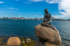 The Little Mermaid (guyvitagasy) Tags: trip blue sea sky beauty denmark photography europe capital capitale mermaid paysage danemark copenhague