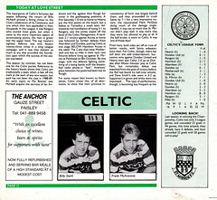 St Mirren vs Celtic - 1988 - Page 12 (The Sky Strikers) Tags: street love st magazine scottish match celtic premier league bq clydeside 60p mirren