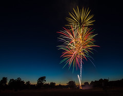 Wyoming MI firworks. (Kevin Povenz) Tags: 2016 june kevinpovenz westmichigan michigan wyoming lamar parkfireworksnightlong exposureeveningjuly 4th4th july4thfirecrackercanon 7d mark iisigma 1020 park