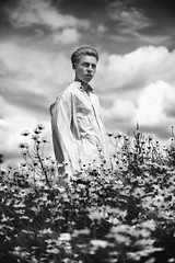 danielblw (sgladiate) Tags: boy summer london nature field fashion model glamour photoshoot young location stanmore