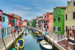Breathing colors (jaumedarenys) Tags: italy colors hdr burano maig 2011 eos5d venetianlagoon