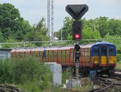 Southwest Trains Class 455 5729 (howtrans38) Tags: class 455 5729 southwest trains
