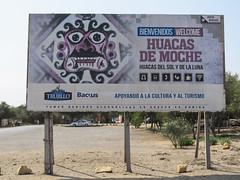 """Las Huacas: la civilisation Moche ou Mochica,  avant celle des Chimús (vue hier à Chan Chan) et donc avant les Incas. <a style=""""margin-left:10px; font-size:0.8em;"""" href=""""http://www.flickr.com/photos/127723101@N04/27941197545/"""" target=""""_blank"""">@flickr</a>"""