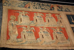 Angers (ChevillonW) Tags: castle art apocalypse bible chateau middleages tapestry angers maineetloire moyenge tapisserie anjou tenture