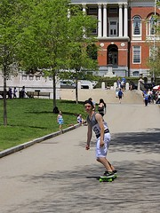 Skateboarder (oxfordblues84) Tags: city boy urban building tree green grass boston architecture skateboarding massachusetts capital nike teen capitol teenager bostoncommon beaconhill skateboarder statehouse capitolbuilding bostonmassachusetts massachusettsstatehouse nikeshoes charlesbulfinch