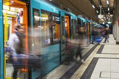 Arrived (Helmut Wendeler aus Hanau) Tags: train germany frankfurt zug bahnhof arrive helmut wendeler