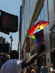 Get your flags (EC Stainsby) Tags: street nyc newyorkcity summer usa ny newyork fun outdoor colorfull pride parade east lgbt avenue fifth thirtieth colourfull sunnny