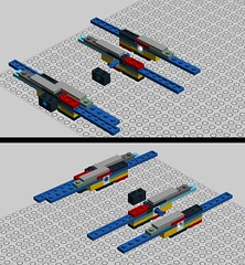 t-70 mechanism (atlas_er) Tags: star force lego wing 7 x xwing wars episode vii moc t70 starfighter awakens
