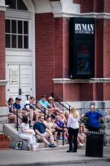 Ryman Auditorium Tour Group (frank thompson photos) Tags: church bluegrass tennessee tourists countrymusic grandoleopry rymanauditorium concerthall nashvilletn uniongospeltabernacle
