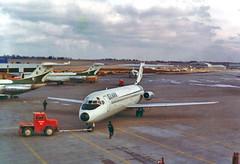 One February Day at Lambert (craigsanders429) Tags: ozarkairlines ozarkdc9 dc9 stlouis lambertstlouisairport lambertstlouisinternationalairport aircraft airlines airliners airports plane tarmac