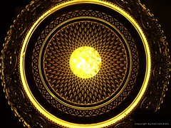 Golden Light (hazirselmani) Tags: light wallpaper sky sun black yellow circle creativity photography gold golden al crystal geometry sunny syria albanian deen macedonian       hazirselmani roukn
