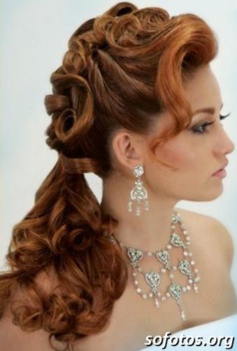 Penteados para noiva 134