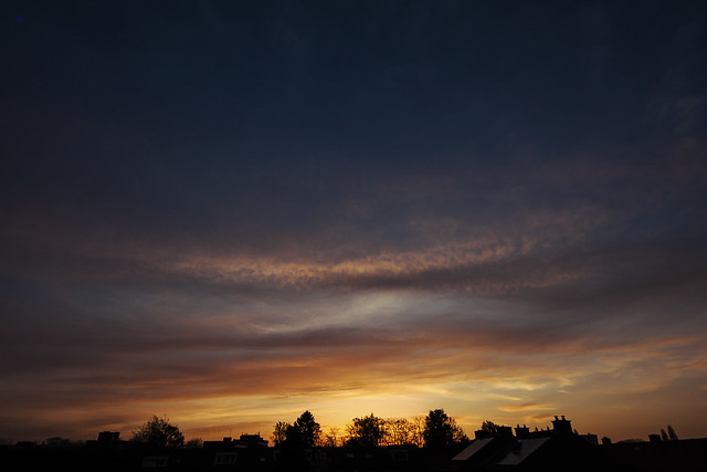sunset arcs