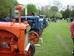 Audley End Railway, Road and Rail Day (Pete 1957) Tags: tractor car rail railway steam lorry essex tractionengine audleyend