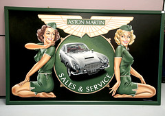 Tony Upson, 'Aston Martin Sales & Service Girls', (Trev Earl) Tags: canon classiccar auction works 5d astonmartin newportpagnell