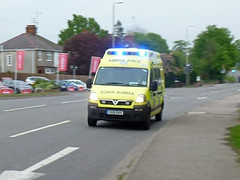 YX10EKV (Emergency_Vehicles) Tags: plant tarmac fire leicestershire may ambulance east croft service friday emergency heading quarry 17th industries midlands aggregate ekn 2013 yx10 yx10ekn