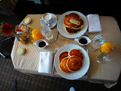 Breakfast in the aftrenoon () Tags: birthday travel party vacation portrait holiday fall coffee caf pancakes breakfast hotel bed bedroom october downtown knife kaffee maryland fork baltimore neighborhood celebration fourseasons happybirthday orangejuice posh expensive littleitaly rtw caff neighbourhood roomservice oj vacanze roundtheworld  globetrotter koffie midatlantic coffi 10thfloor myhotel fourseasonshotel 10009   worldtraveler  fourseasonsbaltimore fourseasonshotelbaltimore