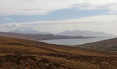 Dump and Run (RoystonVasey) Tags: blue sky mountain snow black skye ice sunshine rock canon landscape scotland powershot glen na ridge friday fabulous isle hs brittle munro cuillin sgurr 965m sx260 bannadich