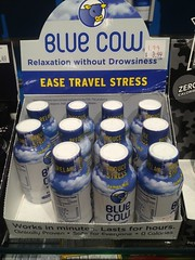 Blue Cow Relaxation Ease Travel Stress (Lynn Friedman) Tags: travel usa relax store airport milwaukee stress wi ease reduce elixer mke bluecow lemonmint lynnfriedman reducestress