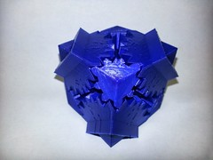 20130611_143343 (pctechwise) Tags: 3d objects gear cube printed 3dprinter makergearm2